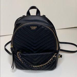 NEW- Victoria's Secret Black backpack/ Purse